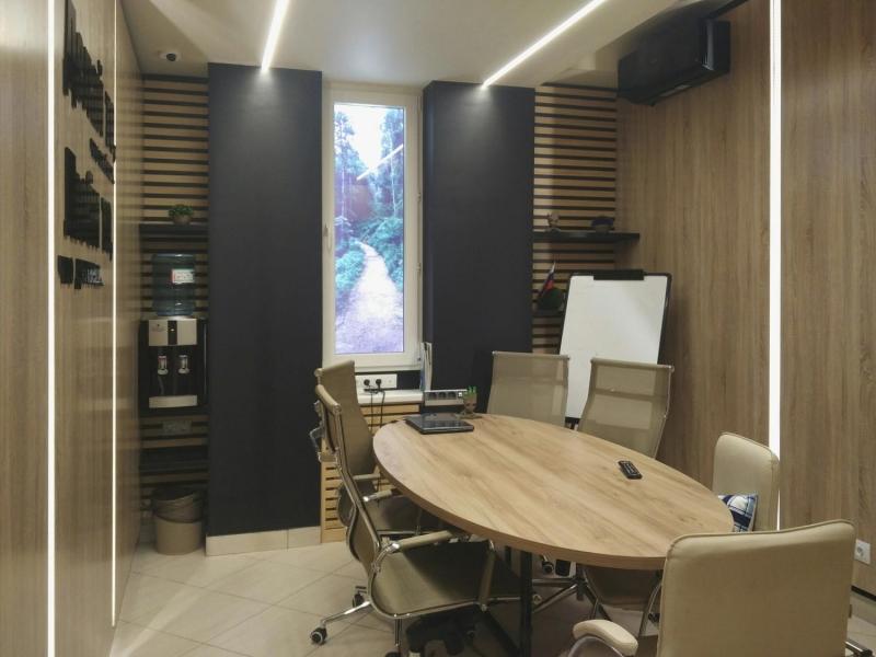 """Дизайн интерьера офиса компании """"Атом"""" в г. Хабаровск, фото реализации"""