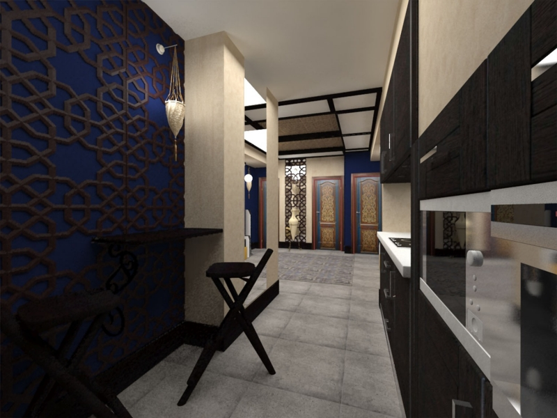Дизайн интерьера сауны - хаммам