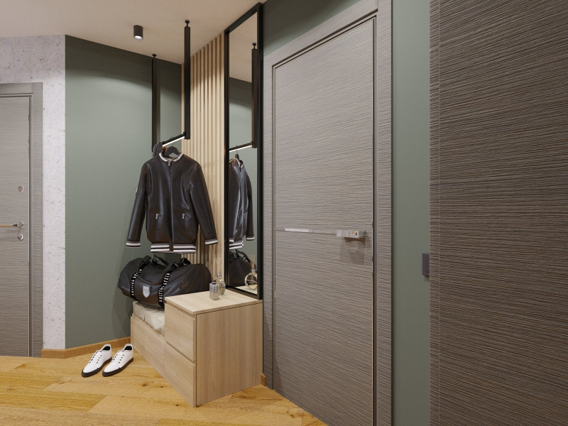 Подключ Хабаровск дизайн интерьера прихожей в стиле лофт