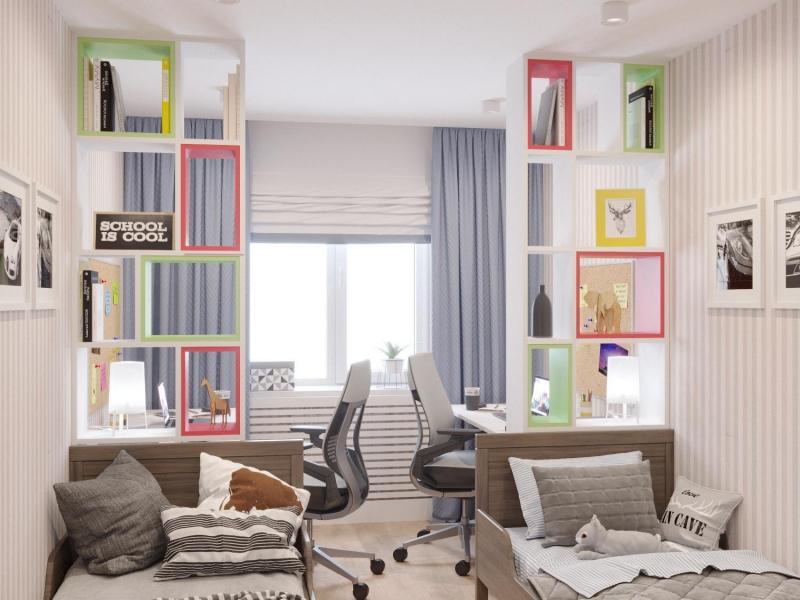 "Дизайн - проект интерьера квартиры в стиле ""модерн"", детская комната"