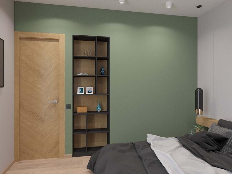 Эко-минимализм, дизайн спальни