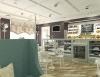 Дизайн интерьера кондитерской, проект дизайн-студии Подключ, Хабаровск