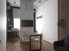 """Дизайн - проект интерьера офиса для компании """"Сотрудничество"""" в стиле лофт, переговорная зона"""