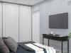 Дизайн - проект квартиры по ул. Некрасова в г. Хабаровск, эскизы спальни