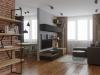 подключ Хабаровск дизайн интерьера в стиле лофт гостиная