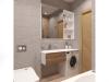 Эко-минимализм, дизайн ванной комнаты